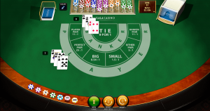 The baccarat game live and online