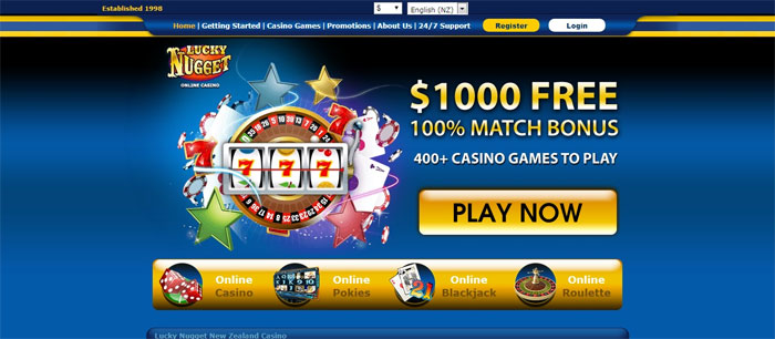 Lucky Nuggets Casino Online